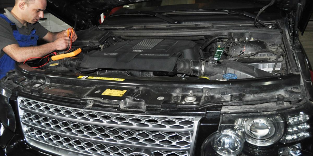 Компьютерная диагностика Land Rover, Range Rover, Jaguar